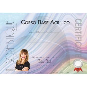 CERTIFICATO CORSO BASE...