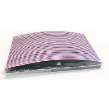 Lima nera mezzaluna lavabile 100/180  art. L1850/20